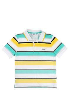 boss-boys-short-sleeve-stripe-polo