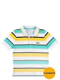 boss-boys-short-sleeve-stripe-polo