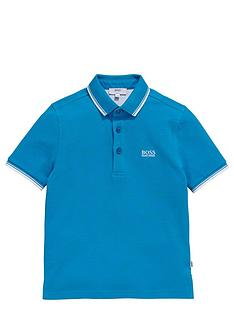 boss-boys-short-sleeve-classic-tipped-polo