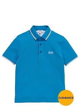 boss-boys-short-sleeve-classic-tipped-polo