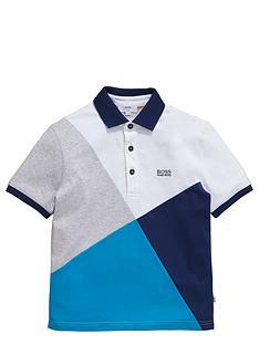 boss-boys-diagonal-block-short-sleeve-jersey-polo