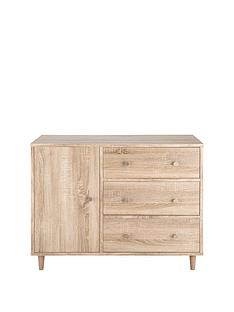 aspen-1-door-3-drawer-compact-sideboard
