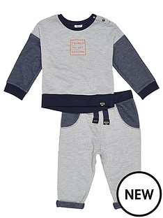 river-island-mini-mini-boys-mesh-sweater-and-joggers-set