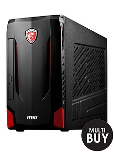 msi-nightblade-mi-b85-intelreg-pentiumreg-processor-8gb-ram-1tb-hdd-hard-drive-nvidia-gt740-pc-gaming-desktop-base-unit-with-optional-microsoft-office-365