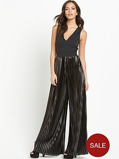 lavish-alice-metallic-pleated-jumpsuit