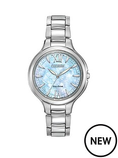 citizen-citizen-eco-drive-039silhouette039-mother-of-pearl-dial-bracelet-ladies-watch