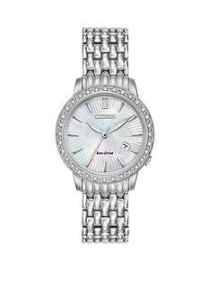 citizen-citizen-eco-drive-039silhouette-diamond039-diamond-set-bracelet-ladies-watch