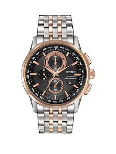 citizen-citizen-eco-drive-039world-chronograph-at039-radio-controlled-bracelet-men039s-watch