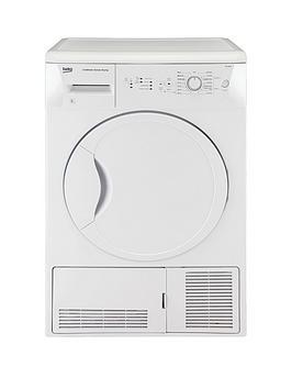 beko-dcu8230w-8kg-condenser-dryer-white-next-day-delivery