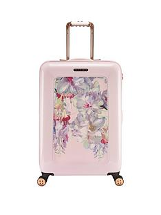 ted-baker-hanging-gardens-printed-4-wheel-medium-case