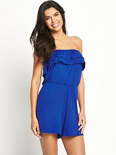 v-by-very-frill-jersey-playsuit
