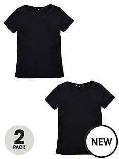 v-by-very-pack-2-crew-neck-rib-t-shirts