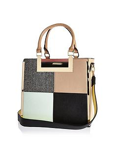 river-island-panelled-tote-bag