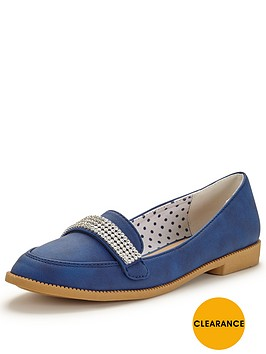 v-by-very-tessa-diamante-trim-pretty-loafer
