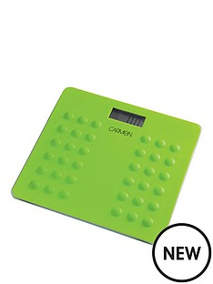 carmen-electronic-bathroom-scale-lime