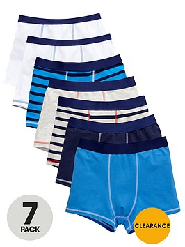 v-by-very-boys-core-trunks-7-pack