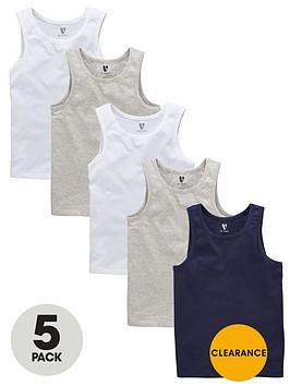 v-by-very-boys-core-la-vests-5-pack