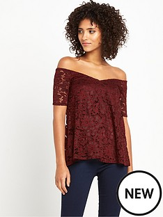 v-by-very-v-neck-lace-bardot-top