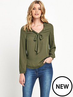 v-by-very-eyelet-long-sleeve-blouse