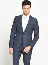 Slim Fit Chambray Jacket