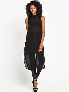 v-by-very-longline-split-blouse