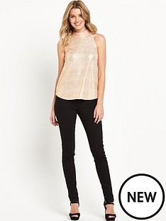 v-by-very-high-neck-shimmer-top