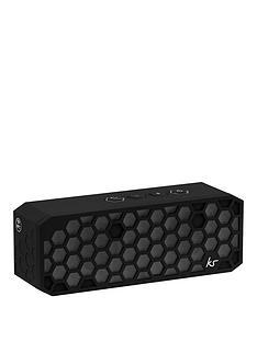 kitsound-hive-2-bluetooth-wireless-portable-stereo-speaker-black