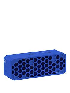 kitsound-hive-2-bluetooth-wireless-portable-stereo-speaker-blue