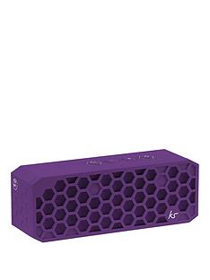 kitsound-hive-2-bluetooth-wireless-portable-stereo-speaker-purple