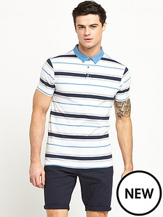v-by-very-short-sleeve-stripe-jersey-polo-top