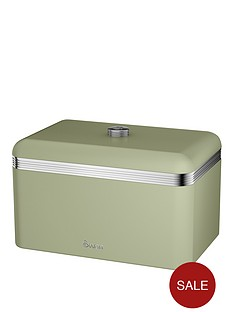 swan-swan-retro-bread-bin-green