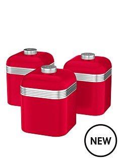 swan-retro-set-of-3-storage-canisters-red
