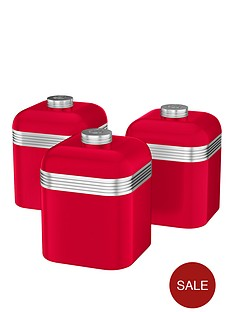 swan-swan-retro-set-of-3-storage-canisters-red