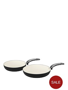 swan-retro-set-of-2-frying-pans-ndash-black