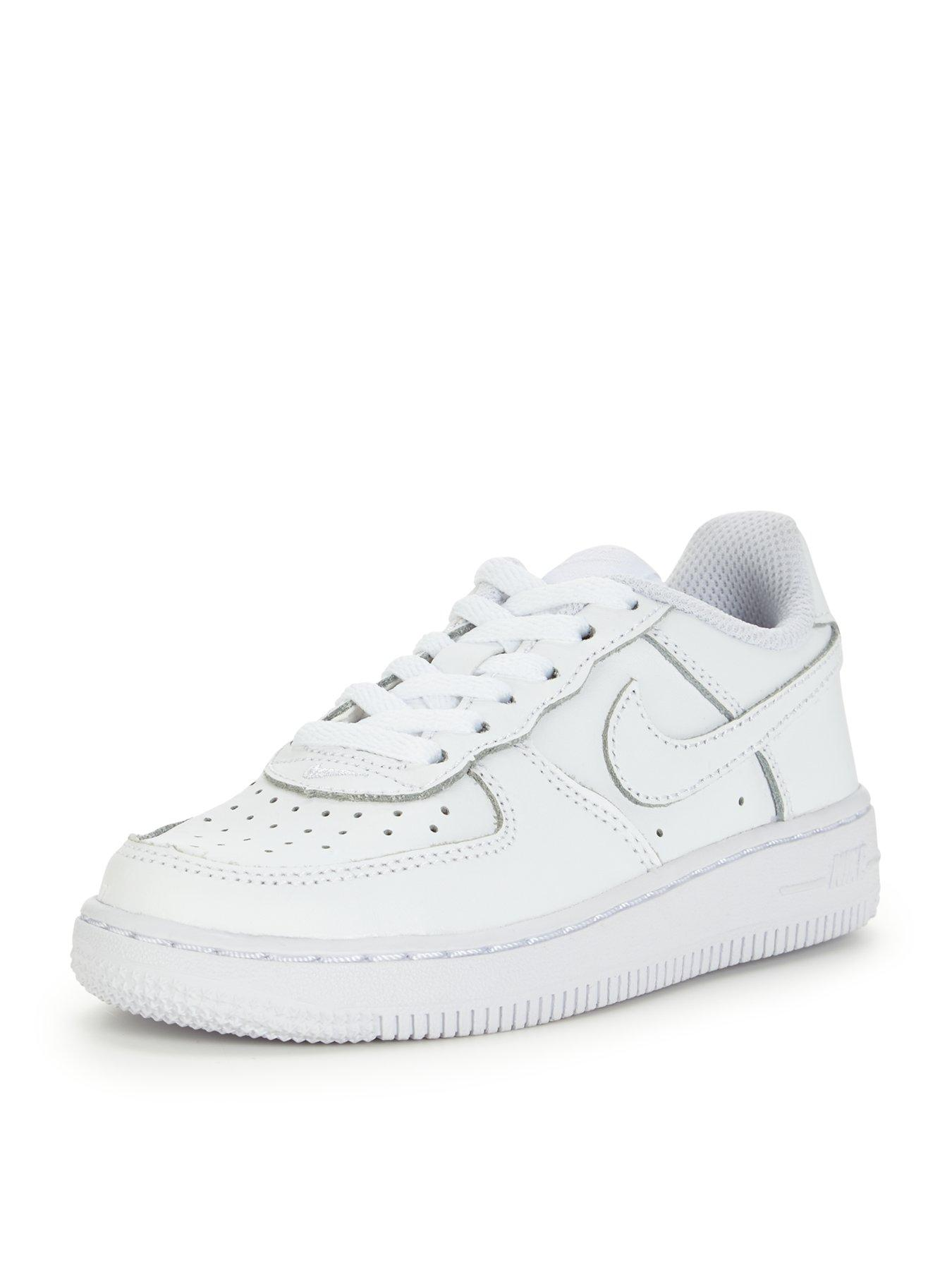 Nike Air Force 1 Low Junior Trainers Black