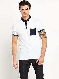 v-by-very-pique-polo-top-with-pocket