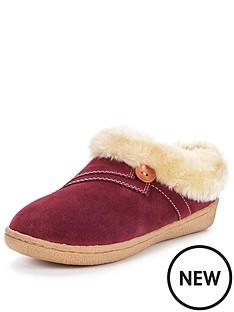clarks-eskimo-snow-suede-slipper