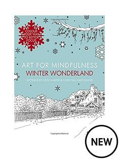 art-for-mindfulness-winter-wonderland-colouring-book