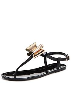 v-by-very-hillcrest-jelly-toe-post-sandal-black