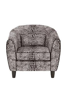 fearne-cotton-snakeskin-fabric-tub-armchair