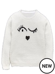freespirit-girls-winkynbspface-eyelash-jumper