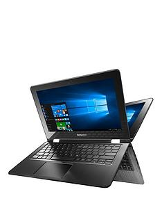 lenovo-yoga-300-intelreg-celerontrade-processor-2gb-ram-32gb-hard-drive-116-inch-touchscreen-2-in-1-laptop-black