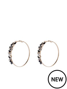 river-island-river-island-encrusted-hoop-earrings