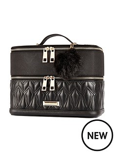 river-island-river-island-quilted-vanity-case