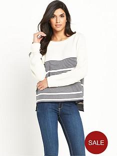 v-by-very-ripple-stitch-detail-stripe-jumper