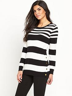 v-by-very-stripe-wool-blend-button-side-split-tunicnbsp