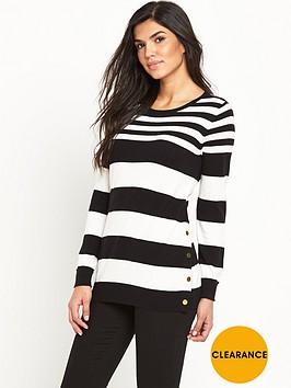 v-by-very-stripe-wool-blend-button-side-split-tunicnbsp