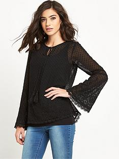 v-by-very-dobby-embroidered-tunic