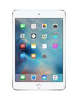 iPad mini 4,128GB, Wi-Fi and Cellular - Silver