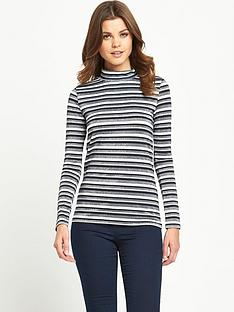 v-by-very-long-sleeve-stripe-roll-neck